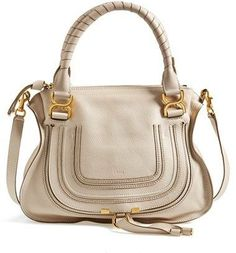Chloe 'Medium Marcie' Leather Satchel Handbag