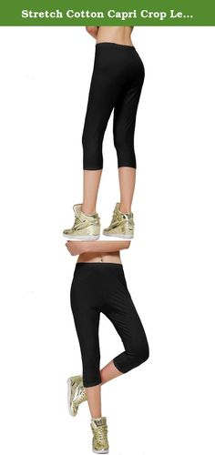Cotton Spandex Capri Legging | Capri leggings, Products and Capri