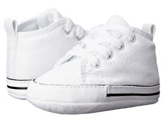 Converse Kids - Ctas First Star (Infant/Toddler) (White) Kid's Shoes