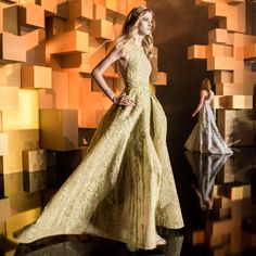 Backstage and More: ELIE SAAB | ZsaZsa Bellagio - Like No Other
