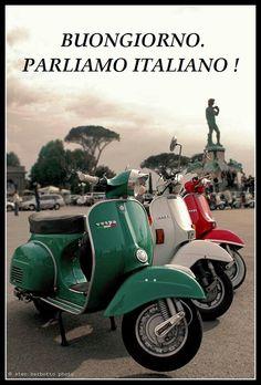 Buongiorno. Parliamo Italiano !