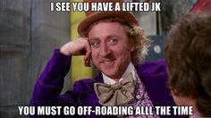 JK lifts... It's a Jeep thing!