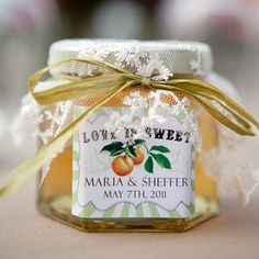 Personalized Honey Labels  Love is Sweet  DIGITAL by GersonCurse, $18.00