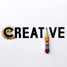 """""""Creativity is contagious."""" - Albert Einstein - Motivational Illustrative Lettering by Joey Bearbower - Creative Logo, Clever Logo, Creative Typography, Creative Words, Typography Design, Typography Inspiration, Logo Design Inspiration, Web Design, Graphic Design"""