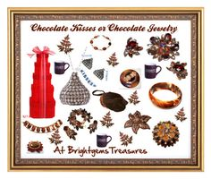 """""""Chocolate KIsses Or Jewelry"""" by brightgemsu on Polyvore featuring Fitz and Floyd, women's clothing, women, female, woman, misses and juniors"""