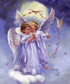 Little cloud angels