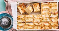 Vanilla Apple Slab Cake - For a guilt-free treat, try our delicious low-calorie vanilla apple slab cake.