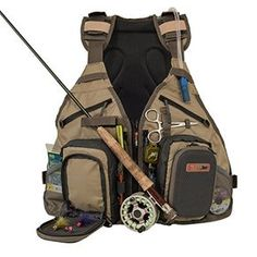 Anglatech Fly Fishing Backpack and Vest Combo with 15 Liter Hydration Water Bladder * Read more reviews of the product by visiting the link on the image.
