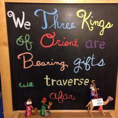 Day 9 -  Star or BUST! #WeThreeKings #WiseMenWandering #JourneyToBethlehem #WiseMenADVENTures