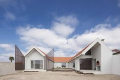 Completed in 2017 in Aveiro, Portugal. Images by ITS – Ivo Tavares Studio. Located in Praia da Vagueira, in the municipality of Vagos, we were requested by the client to carry out the rehabilitation of the existing housing,. Residential Architecture, Contemporary Architecture, Architecture Design, Contemporary Homes, Contemporary Classic, Amazing Buildings, Amazing Architecture, Portugal, Construction Cost
