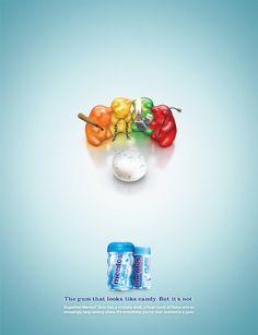 Mentos Gum - Print - Fabio Costa