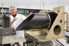 """To build a <a class=""""pintag searchlink"""" data-query=""""%23NASA"""" data-type=""""hashtag"""" href=""""/search/?q=%23NASA&rs=hashtag"""" rel=""""nofollow"""" title=""""#NASA search Pinterest"""">#NASA</a> instrument at ASU first meant having to convince the space agency it could be done and done right. Being able to win over NASA's confidence isn't easy. As they were building OTES, they were able to talk NASA into providing a thermal vacuum chamber in which the instrument could be tested in space-like conditions. That…"""