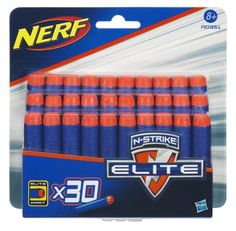 Hasbro A0351148 – Nerf N-Strike Elite 30er Darts Nachfüllpack   Your #1 Source for Toys and Games