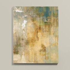Paris Mist Stretched Canvas