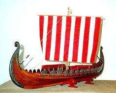 Scale Model Gallery - Viking Ship - Oseberg (850 A. D.)