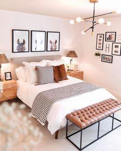 Room Design Bedroom, Small Room Bedroom, Room Ideas Bedroom, Home Bedroom, Budget Bedroom, West Elm Bedroom, Horse Bedroom Decor, Bedroom Ideas For Small Rooms For Adults, Small Bedroom Hacks