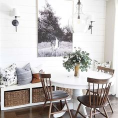 Design Space Saving Dining Room For Your Apartment Dining Room Design Apartment design Dining Room Saving Space Dining Nook, Dining Room Sets, Dining Room Design, Dining Room Furniture, Small Dining Area, Dining Room Bench, Furniture Layout, Furniture Stores, Dining Tables