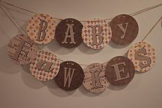 A Woodland Baby Shower Baby Name Banners, Cute Banners, Woodland Animals Theme, Woodland Baby, Baby Shower Parties, Baby Shower Themes, Shower Ideas, Shower Party, Baby Showers