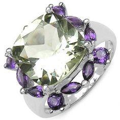 7.50 Carat Genuine Amethyst Sterling Silver Ring (Jewelry) http://www.amazon.com/dp/B005BBJV6M/?tag=repined-20 B005BBJV6M