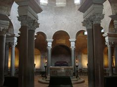 Catacomben en mausoleum aan de Via Nomentana in Rome: het verhaal van Agnes en Costanza