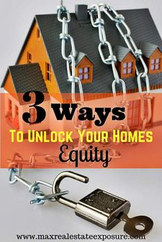 See how to get the equity out of your home with three options, including downsizing into a smaller home, a reverse mortgage and a home equity loan. http://www.maxrealestateexposure.com/how-to-get-the-equity-out-of-your-home/