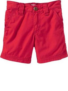 Pop-Color Canvas Shorts for Baby | Old Navy 11.99 Otters