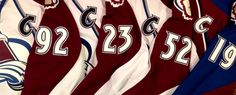 Avs Captains 2.  Game worn x3 and a game issue.