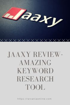 Keyword research is one of the most important aspects of achieving success online. Take a look at Jaaxy, an amazing keyword research tool that I like to use.