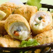 Involtini di pollo, verdure croccanti e Certosa