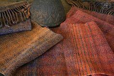 Autumn sunset  Handdyed, handspun, handwoven scarf Fiber Art, Hand Weaving, Autumn, Sunset, Fall, String Art, Sunsets