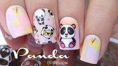 Panda Nails   Born Pretty BPX-L015 Review - YouTube