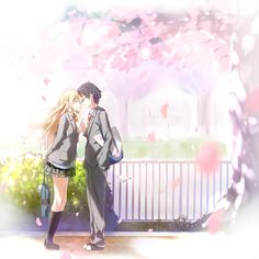Your Lie In April ~ This was such a good anime! It made me so sad in the end though! >.<