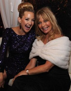 Aren't they gorgeous? Kate & Goldie!