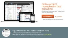 LiquidPlanner is an online project management tool that provides users with sustainable functionalities to effectively manage projects. It allows you to have full access and display of your project branches by integrating it with a variety of features