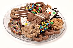 Check out our Platters and Trays! www.chocolatepizazz.com