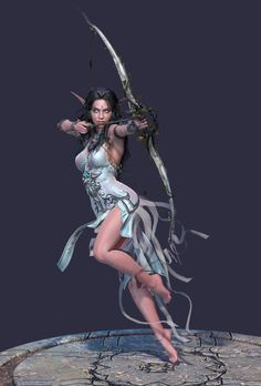 ArtStation - Tyrande - High Priestess of Elune George Panfilov Fantasy Art Women, Beautiful Fantasy Art, Dark Fantasy Art, Fantasy Girl, Fantasy Artwork, Warcraft Art, World Of Warcraft, Fantasy Female Warrior, Female Art