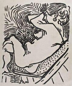 Henri Matisse (1869-1954) Le Grand Bois 1906 (577 by 460 mm)