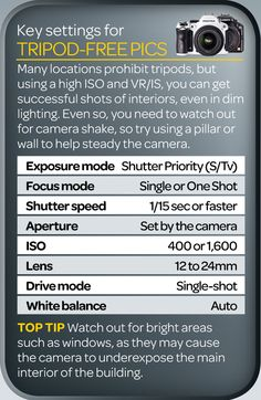 Best camera settings for shooting handheld (free cheat sheet)