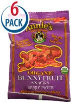 Annie's Homegrown Organic Bunny Fruit Snacks Berry Patch #BacktoSchool