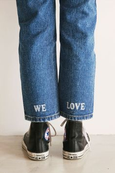 unique denim: we-love-jeans SHOP OUR CURRENT FAVORITES → HTTP://WWW.STHSWEET.COM/COLLECTIONS/CHEESEDAL