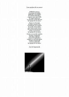 Poema de Espronceda elegido por Adriana Cuadros.