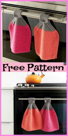 For a light weight, hassle free knitting experience use bamboo knitting needles. Dishcloth Knitting Patterns, Crochet Dishcloths, Loom Knitting, Free Knitting, Knitting Designs, Knitting Projects, Loom Patterns, Crochet Patterns, Crochet Towel