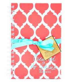 Love this Coral Brooke 'Created to Shine' Fabric Journal by Mary Square on #zulily! #zulilyfinds