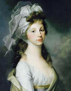Duchess Louise of Mecklenburg-Strelitz (Luise Auguste Wilhelmine Amalie; 10 March 1776 – 19 July 1810) was Queen consort of Prussia as the wife of King Frederick William III. The couple's happy, though short-lived, marriage produced nine children, including the future monarchs Frederick William IV of Prussia and German Emperor Wilhelm I.