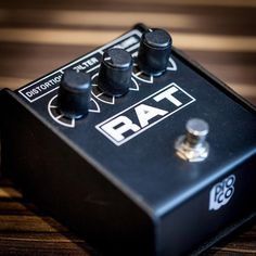 ProCo RAT: a classic distortion #pedal that will serve you well in your musical endeavors #guitarpedal #guitarists #pedalboard #distortionpedal #procorat #rat #musicisourpassion #guitar #effects #effectpedal #pedal #rat