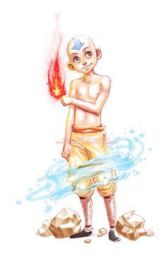 Aang by =senbo-sama