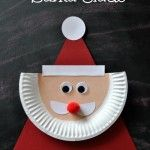 Paper Plate Santa Claus