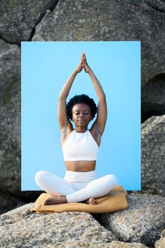 Ndivhudzannyi Mphephu, shot by Micky Wiswedal. Creative Director: Bielle Bellingham. Available for sale on Stocksy. Outdoor Yoga, Photos Of Women, How To Do Yoga, Creative Director, African, The Unit, Exercise, Gym, Stock Photos