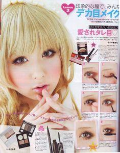 doll eye makeup
