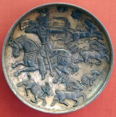 Hermitage Museum Sassanid art